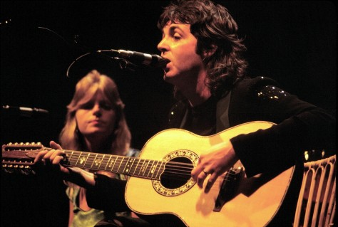Paul and Linda McCartney, Wings Over America Tour, 1976