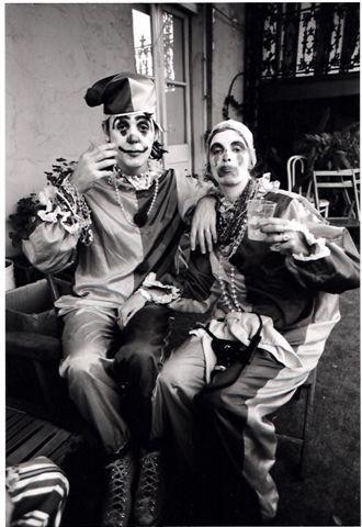 Paul and Linda McCartney in disguise, Mardi Gras 1975